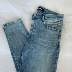 Express High-Rise Jeans